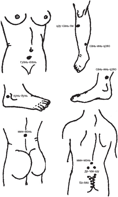 epub Лечебные точки организма: снимаем боли в сердце и в области живота