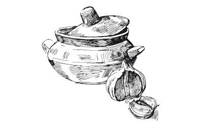 Обложка книги Украинская, белорусская, молдавская кухни