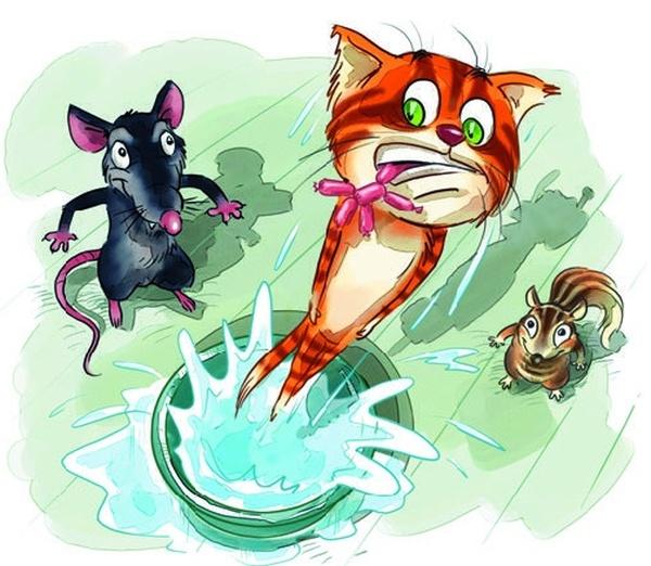 Книга Боцман, бурундук, кот и крыса