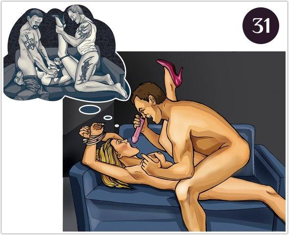 Позы на диване для секса